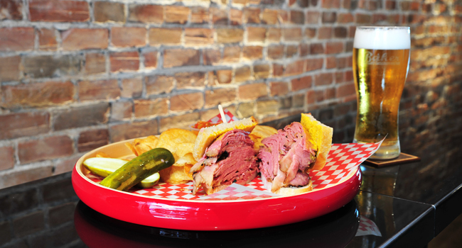 Assiette Smokedmeat du Baker Smokedmeat